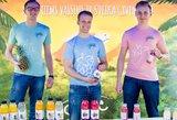 Skonį ir vitaminus uždarė buteliukuose