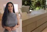 Internautus pribloškė Kardashian namų kriauklė: kur subėga vanduo?