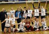 Lietuvos moterų tinklinio komandos Baltijos lygoje iškovojo po vieną pergalę