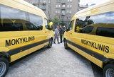 Vilniaus taboro moksleivius į mokyklas vežios privatus vežėjas