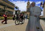 Paskelbė įdomiausius faktus apie naujausią popiežiaus Pranciškaus vizitą