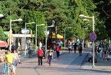 Dviratininkai įsiutę: kodėl Palangos Birutės parkas tik pėstiesiems?