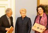 Pasaulinio garso tenorui Placido Domingo – dovana iš Lietuvos Prezidentės
