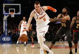 """Kristapo Porzingio jėga sugrąžino """"Knicks"""" į pergalių kelią"""