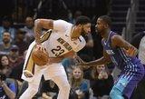"NBA: monstriška Daviso naktis ir pergales toliau renkanti ""76ers"""