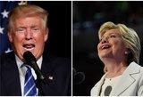 Trumpas prieš Clinton: nerimą keliantis JAV susiskaldymas
