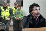 Kražių žudikas išgirdo teismo verdiktą: kalės iki gyvos galvos