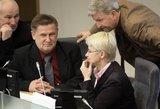 """Teisėsaugos ir politikos """"pūlinio"""" N. Venckienės likimą spręs P. Gražulis, K. Masiulis ir M. Zasčiurinskas"""