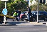Vilniuje dėl nedidelės avarijos nusidriekė kilometrinės spūstys