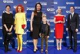 Jolanta Svirnelytė prabangų renginį nutvieskė geltona spalva