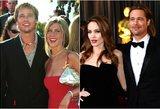Aniston atskleidė, ką iš tiesų galvoja apie jos šeimą sugriovusią gražuolę Jolie