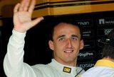 Sunkią traumą išgyvenęs lenkas – per žingsnį nuo sugrįžimo į F1 lenktynes