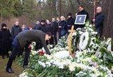 Aktorius Arūnas Storpirštis palaidotas Antakalnio kapinėse