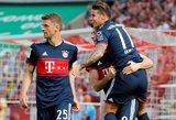 """Vokietijos čempionai laimėjo, """"Borussia"""" prarado šansus užimti antrąją vietą"""