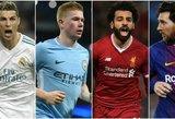 Išrinko geriausius: paskelbta simbolinė UEFA Čempionų lygos komanda
