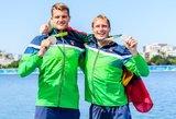 Pirmuosius medalius Lietuvai iškovoję irkluotojai: mums jie yra aukso vertės!