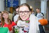 Į Lietuvą grįžusi I. Zasimauskaitė buvo nustebinta: tokio palaikymo nesitikėjo