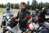 """Motociklininkų akcijos """"Mane veža"""" organizatorė: """"Turbūt esame vieninteliai pasaulyje"""""""