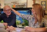 Arūnas ir Inga Valinskai tapo seneliais