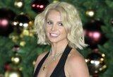 Tebūnie Kalėdos! Pop princesė Britney Spears įžiebė eglę Las Vegase