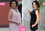 Starošaitė atsikratė 9 kilogramų: rezultatus pamatė jau po pirmos savaitės