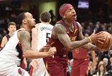 """NBA: """"Suns"""" supertalento šou ir galingas Isaiah Thomo debiutas"""