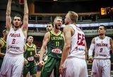 Geriausių krepšininkų rinkimuose užtikrintai pirmauja Domantas Sabonis