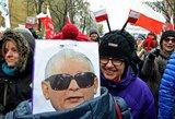 Lenkijos valdžia susidūrė su tautos pasipriešinimu