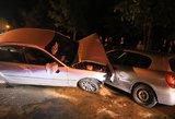 Masinė avarija Vilniuje – sudaužyti mažiausiai 5 automobiliai
