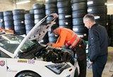 """""""1000 km Parnu"""": techninė komisija pakėlė lenktynių užkardą"""