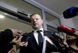 Premjeras atsakė, ar svarsto apie skyrybas su socialdemokratais