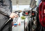 Degalų kainos Lietuvoje išlieka mažiausios Baltijos valstybėse