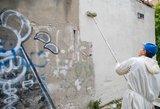 Pranciškonų vienuolyną sudarkiusių grafitininkų byla – teisme
