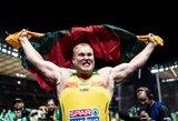 Tarp pretendentų į medalius pasaulio lengvosios atletikos čempionate – du lietuviai