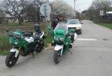 Motociklininkų sezono atidarymo dieną motociklų vairuotojai  nepasižymėjo drausme