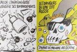 """""""Kas dar Charlie?"""": rusai springsta iš pasipiktinimo dėl naujųjų karikatūrų"""