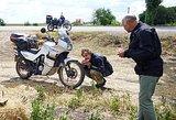 Motociklu – tūkstančius kilometrų