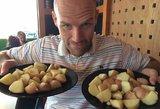 Metus valgė tik bulves ir nutiko stebuklas: neteksite amo