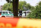 Kalvarijos savivaldybėje sudegė automobilis su žmogumi