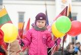 Kovo 11-oji JAV: svetur gimę ir augę vaikai sveikina Lietuvą