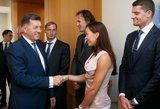 Kur olimpiečiai leis premijas: butas, automobilis žmonai ir Juozuko sistema