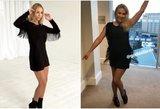G. Alijeva ir N. Bunkė pasipuošė beveik identiškomis suknelėmis: kuriai tinka labiau?