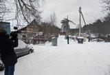 Kraupus incidentas Vilniuje: konteinerio dangtis prispaudė pirštus