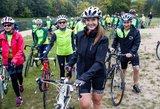 Moterys 100 km mynė dviračiais – antrą kartą surengtas renginys pasiekė rekordą