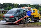 Vilniuje girtas vairuotojas sukėlė avariją, į ligoninę išvežtas vaikas