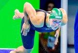 Rūta Meilutytė nusileido J. Jefimovai, bet kovos finale