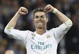 """Apie skandalingą frazę prakalbęs Cristiano Ronaldo: nežinau, ar dar žaisiu """"Real"""""""