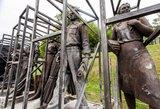 Kultūros ministras: Žaliojo tilto skulptūros galėjo būti nukeltos anksčiau