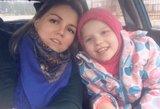 Lukrecijos smegenis suardė nežinoma liga: mamos prašymas spaudžia ašarą