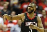 """Galvos skausmas """"Rockets"""": C.Paulas reikalauja maksimalaus kontrakto"""